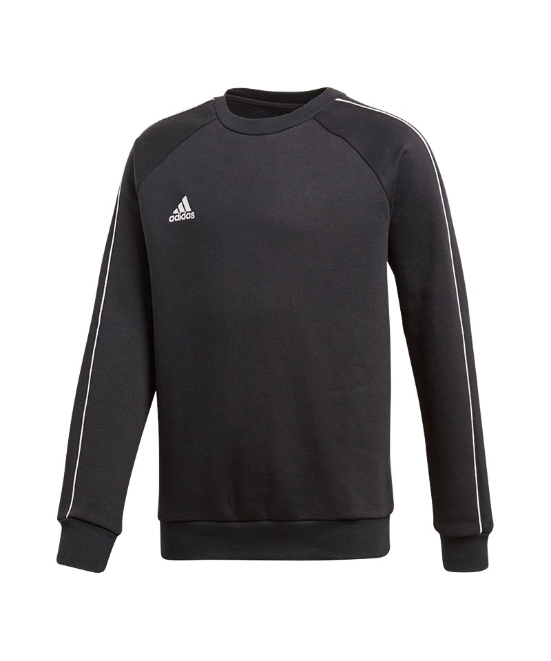adidas Core 18 Sweat Top Kids Schwarz - schwarz