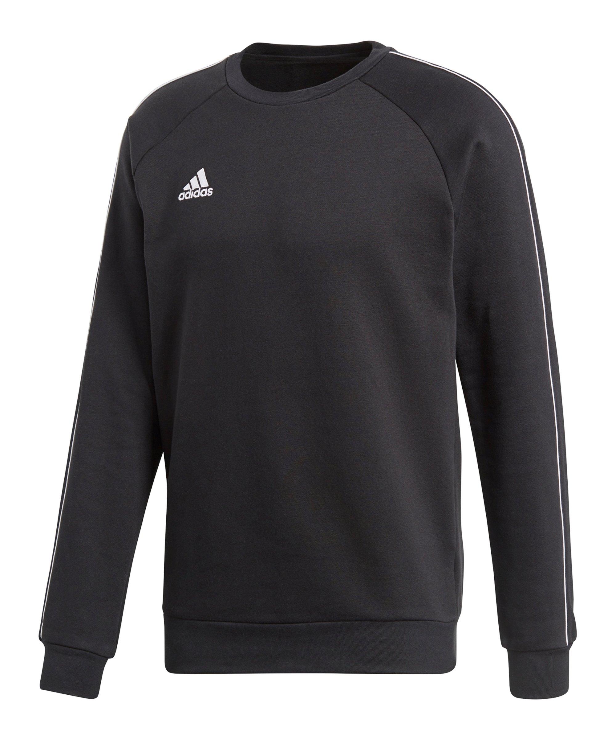 adidas Core 18 Sweat Top Schwarz Weiss - schwarz