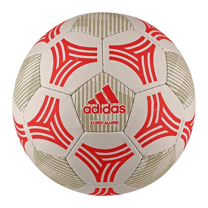 adidas Tango Allround Trainingsball Braun Rot - braun