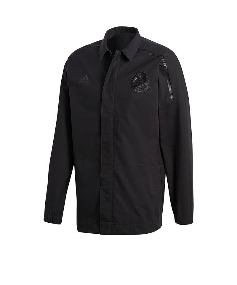 adidas Mexiko Z.N.E. Jacket Woven Jacke Schwarz - schwarz