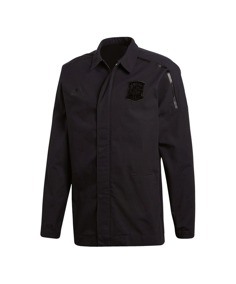 adidas Spanien Z.N.E. Jacket Woven Jacke Schwarz - schwarz