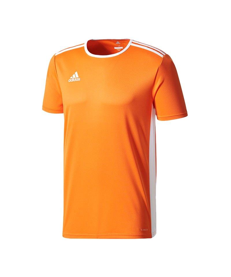 adidas Entrada Trikot 18 Kids Orange Weiss - orange