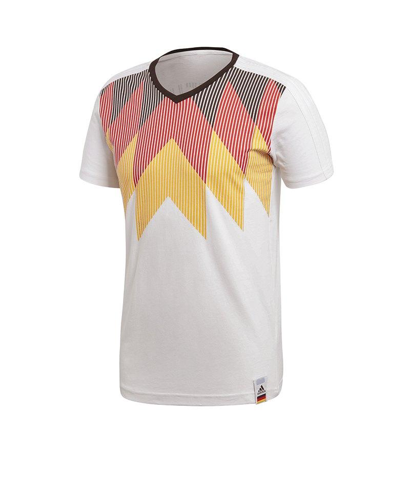 adidas Deutschland Country Identity T-Shirt Weiss - weiss