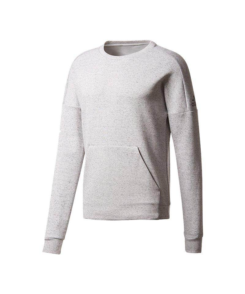 adidas Sweatshirt ID Stadium Crew Grau - grau