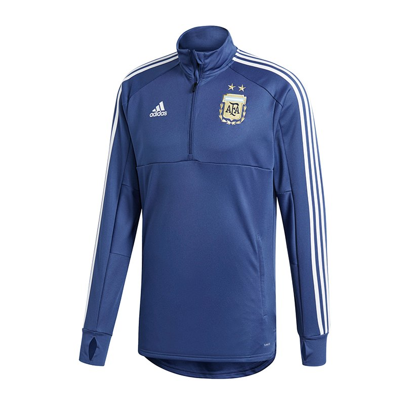 adidas Argentinien Trainingstop Blau - blau