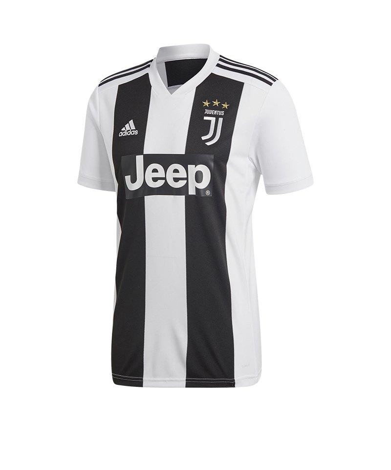 adidas Juventus Turin Trikot Home 2018/2019 - schwarz