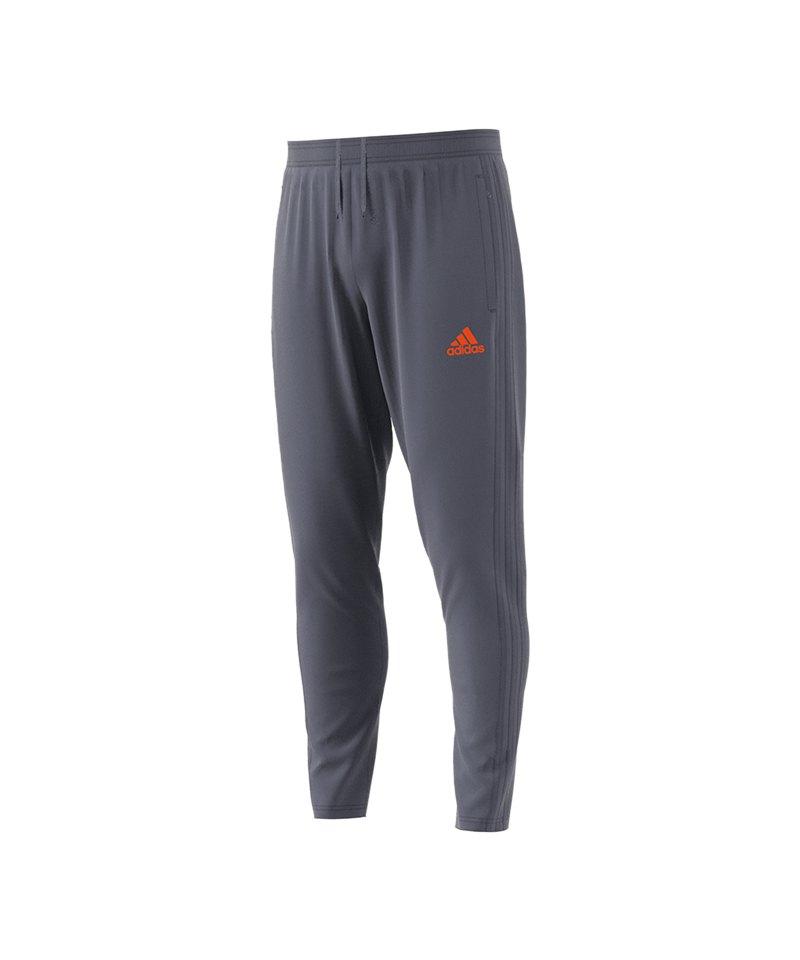 adidas Condivo 18 Training Pant Grau Orange - grau