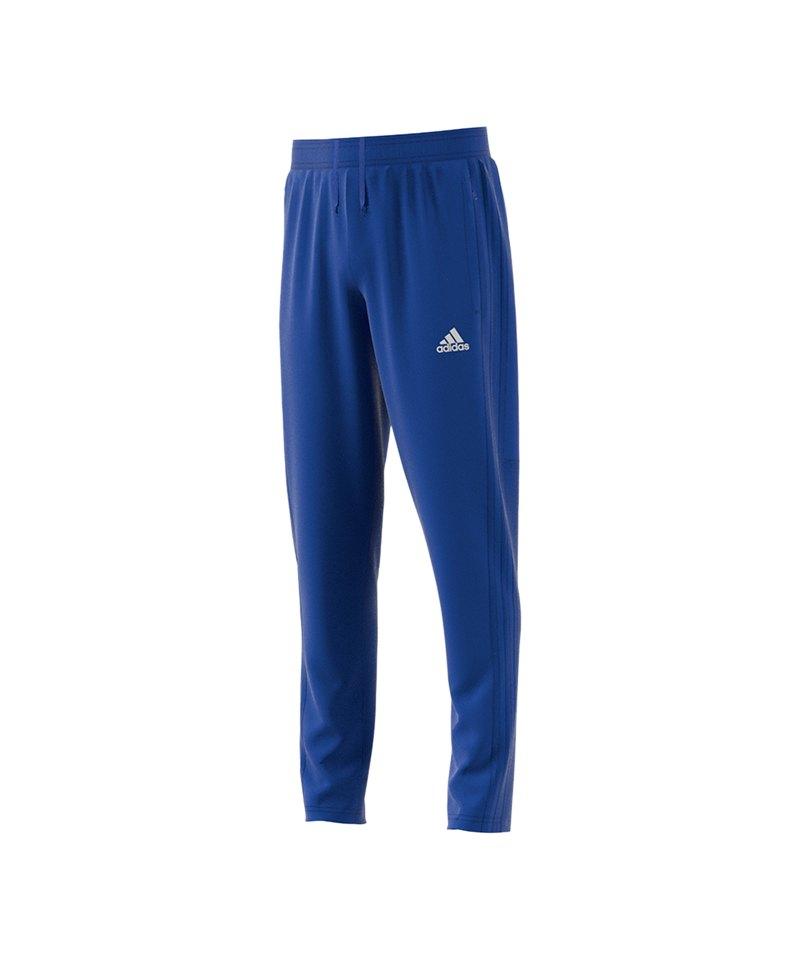 adidas Condivo 18 Training Pant Kids Blau Weiss - blau