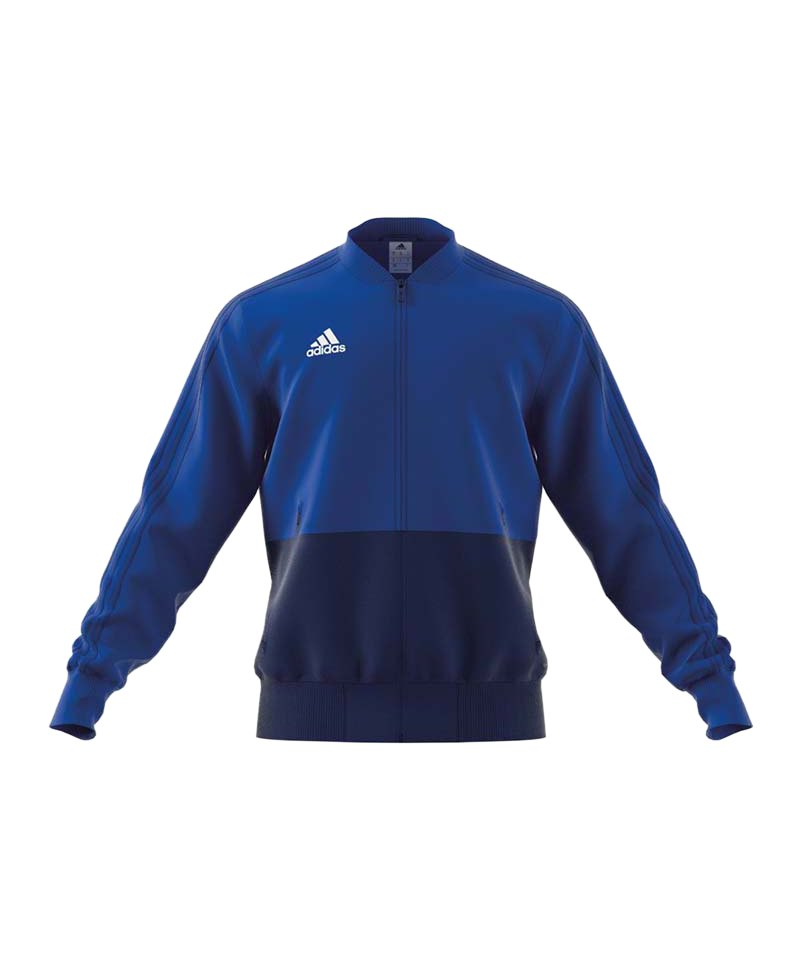 adidas Condivo 18 Präsentationsjacke Blau Weiss - blau