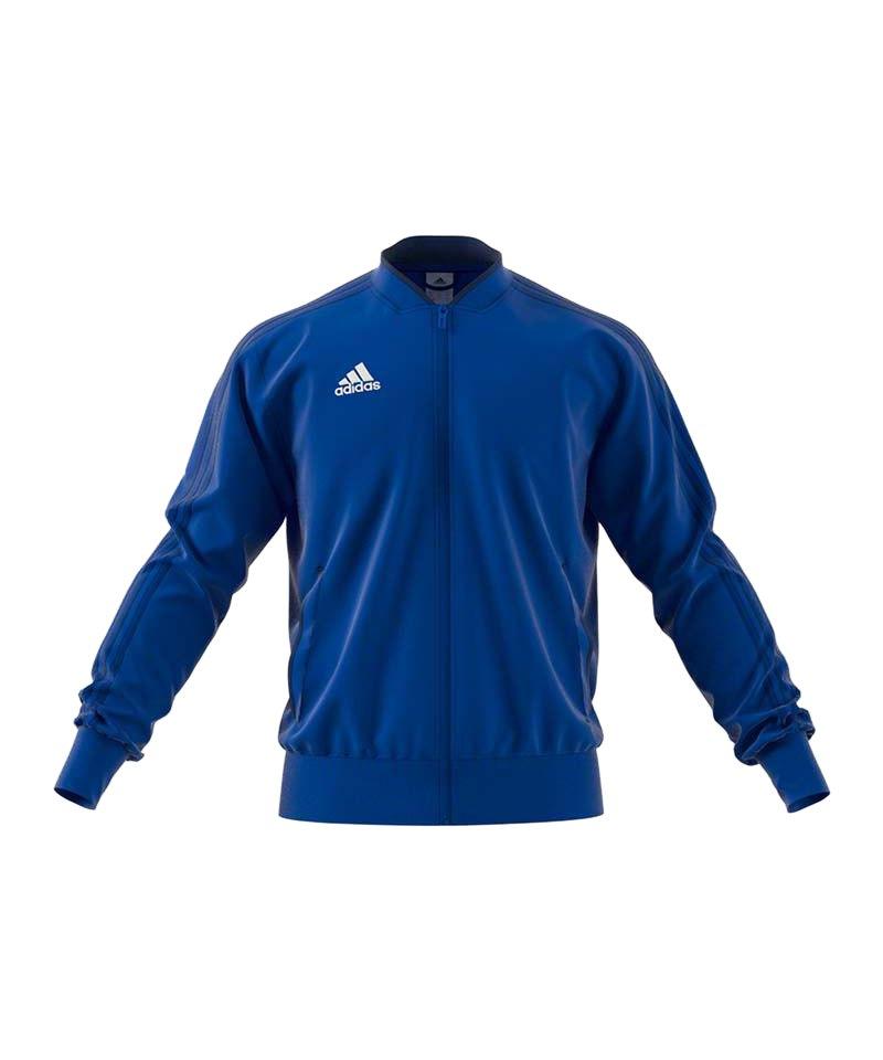 adidas Condivo 18 Polyesterjacke Blau Weiss - blau