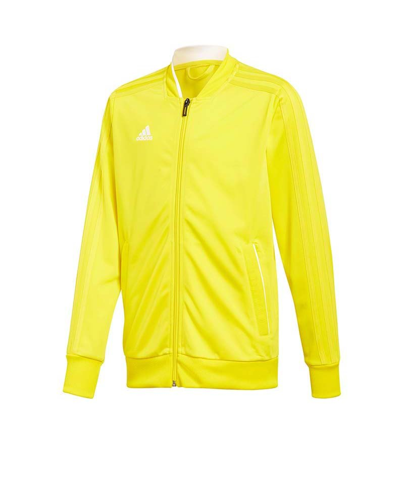 adidas Condivo 18 Polyesterjacke Kids Gelb Weiss - gelb