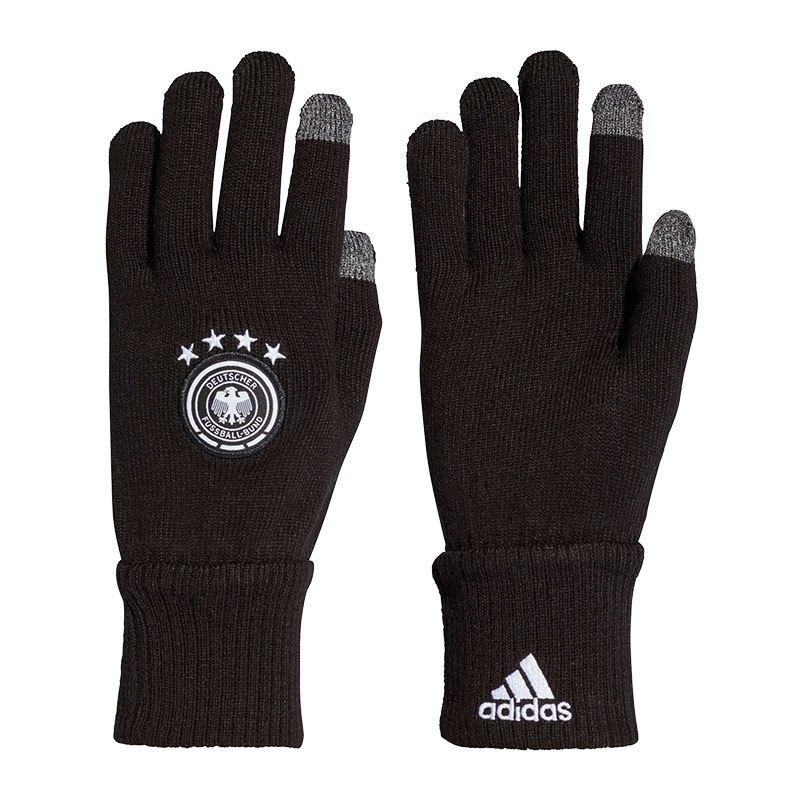 adidas DFB Deutschland Gloves Handschuhe Schwarz - schwarz