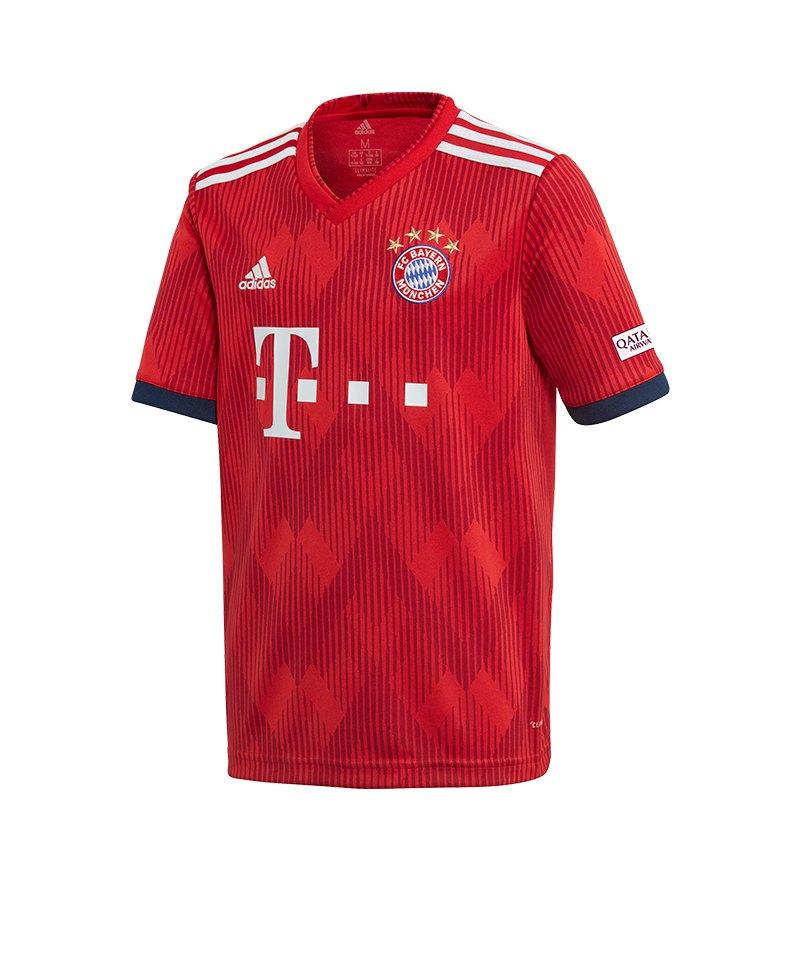 adidas FC Bayern München Trikot UCL Kids 2018/2019 Grau - grau