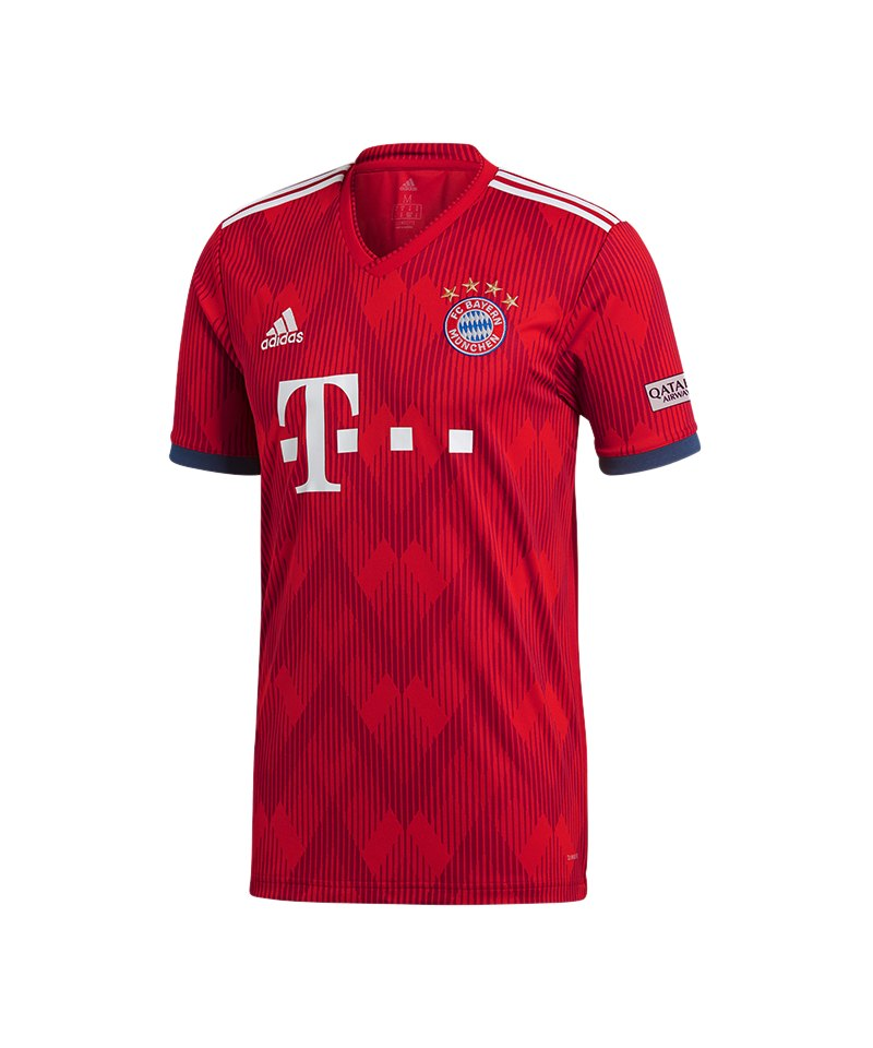 adidas FC Bayern München Trikot Home 2018/2019 - rot