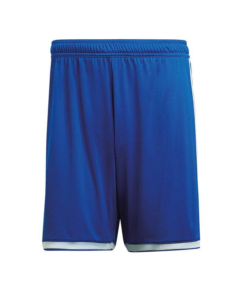adidas Regista 18 Short Hose kurz Blau Weiss - blau