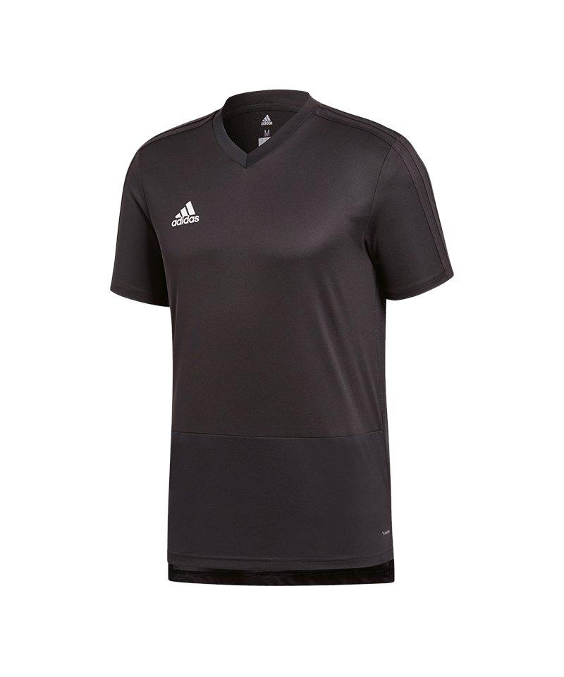 adidas Condivo 18 Training T-Shirt Schwarz Weiss - schwarz