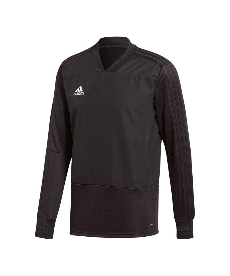 adidas Condivo 18 Sweatshirt Schwarz Weiss - schwarz