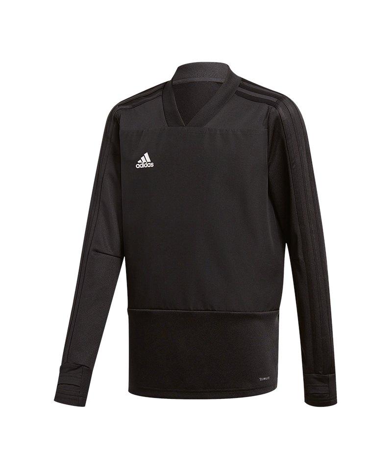 adidas Condivo 18 Sweatshirt Kids Schwarz Weiss - schwarz