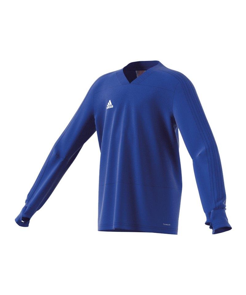 adidas Condivo 18 Sweatshirt Kids Blau - blau