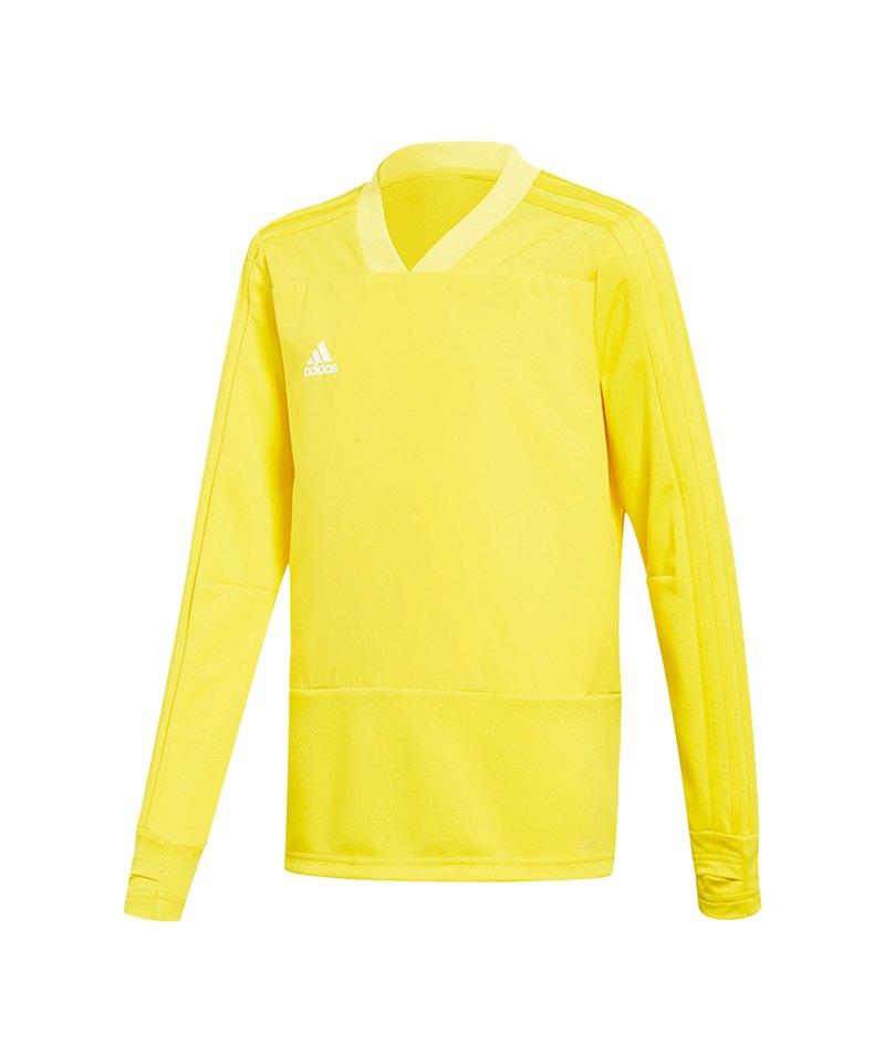 adidas Condivo 18 Sweatshirt Kids Gelb - gelb