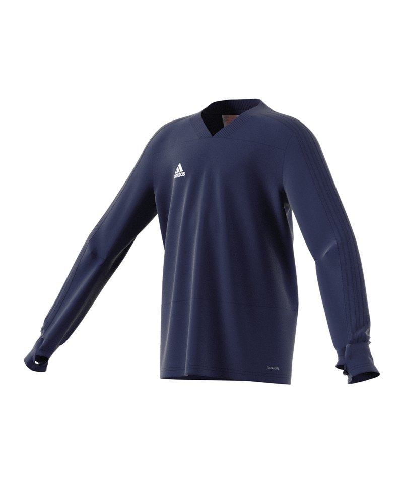 adidas Condivo 18 Sweatshirt Kids Dunkelblau - blau