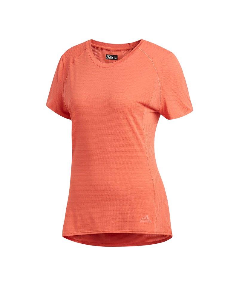 adidas Supernova Tee T-Shirt Running Damen Rosa - rosa