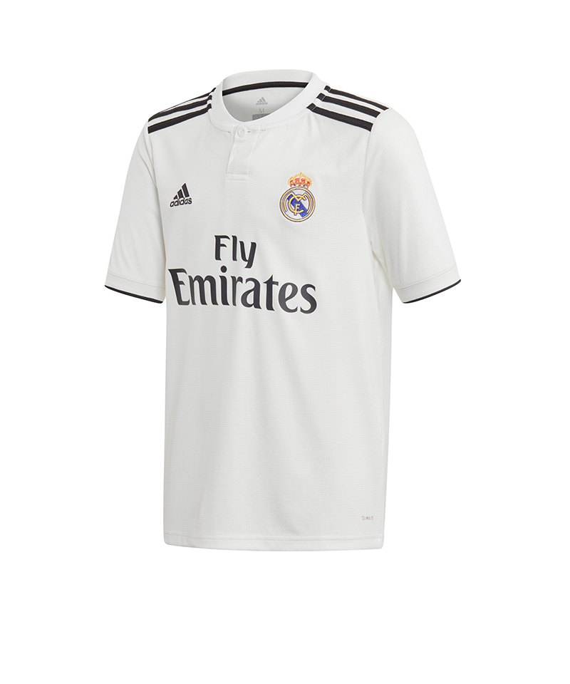 adidas Real Madrid Trikot Home Kids 2018/2019 - weiss