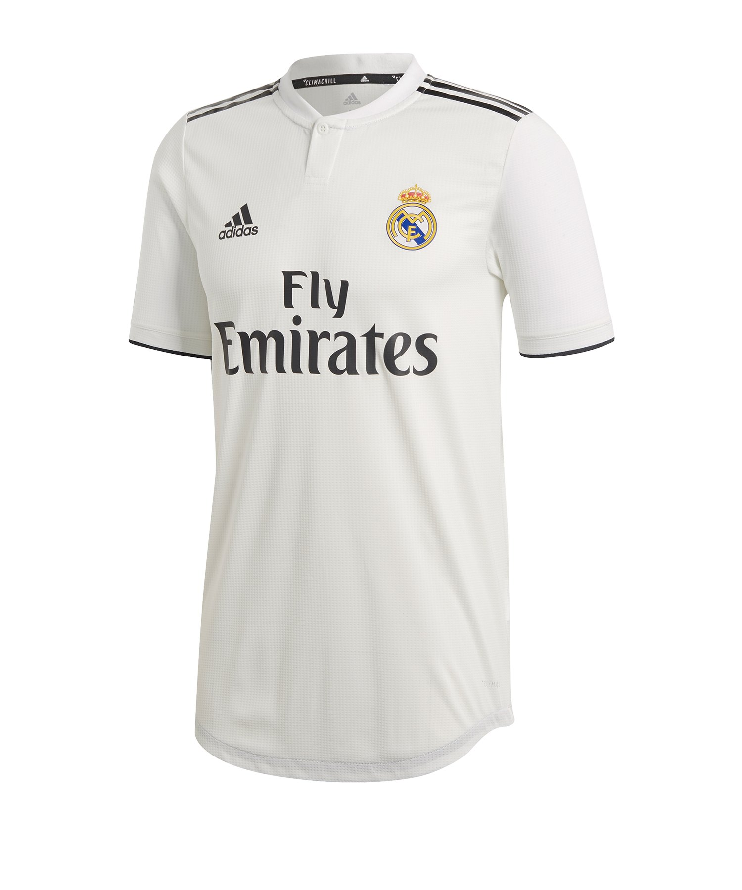 adidas Real Madrid Auth. Trikot Home 18/19 Weiss - weiss