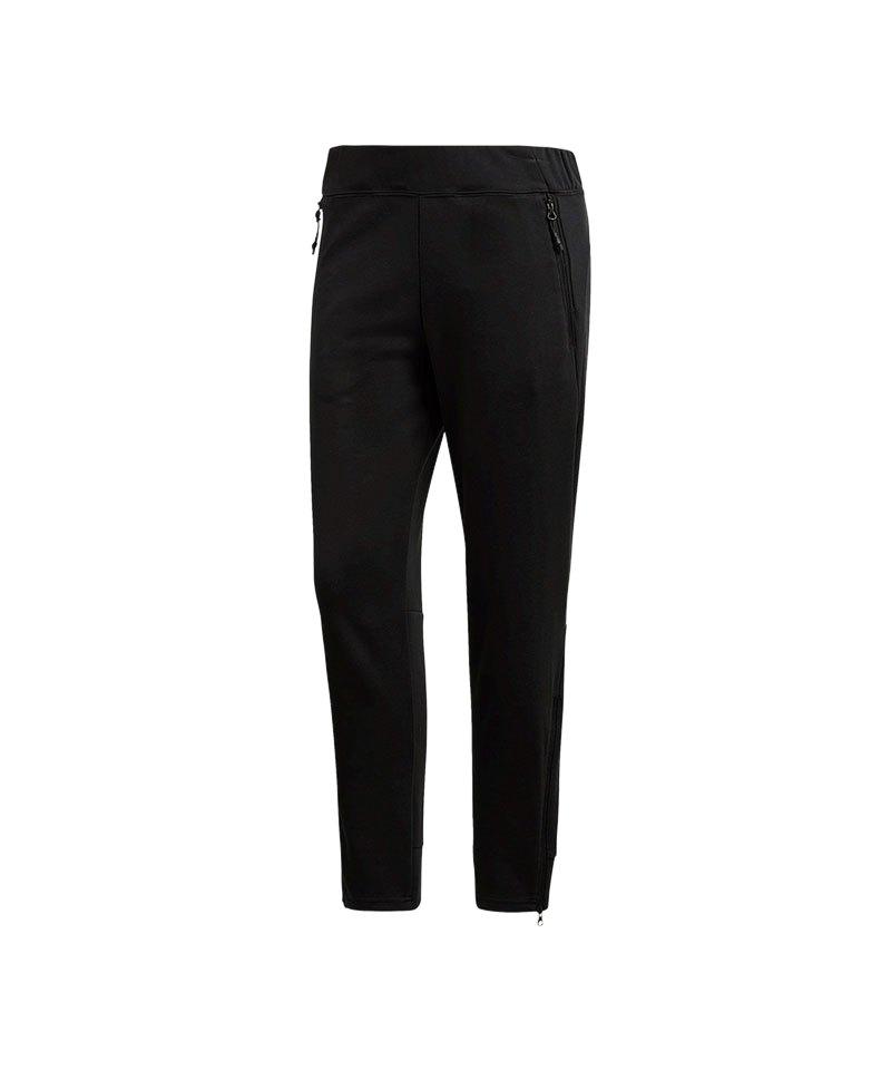 adidas ID Glory Skinny Pant Damen Schwarz - schwarz
