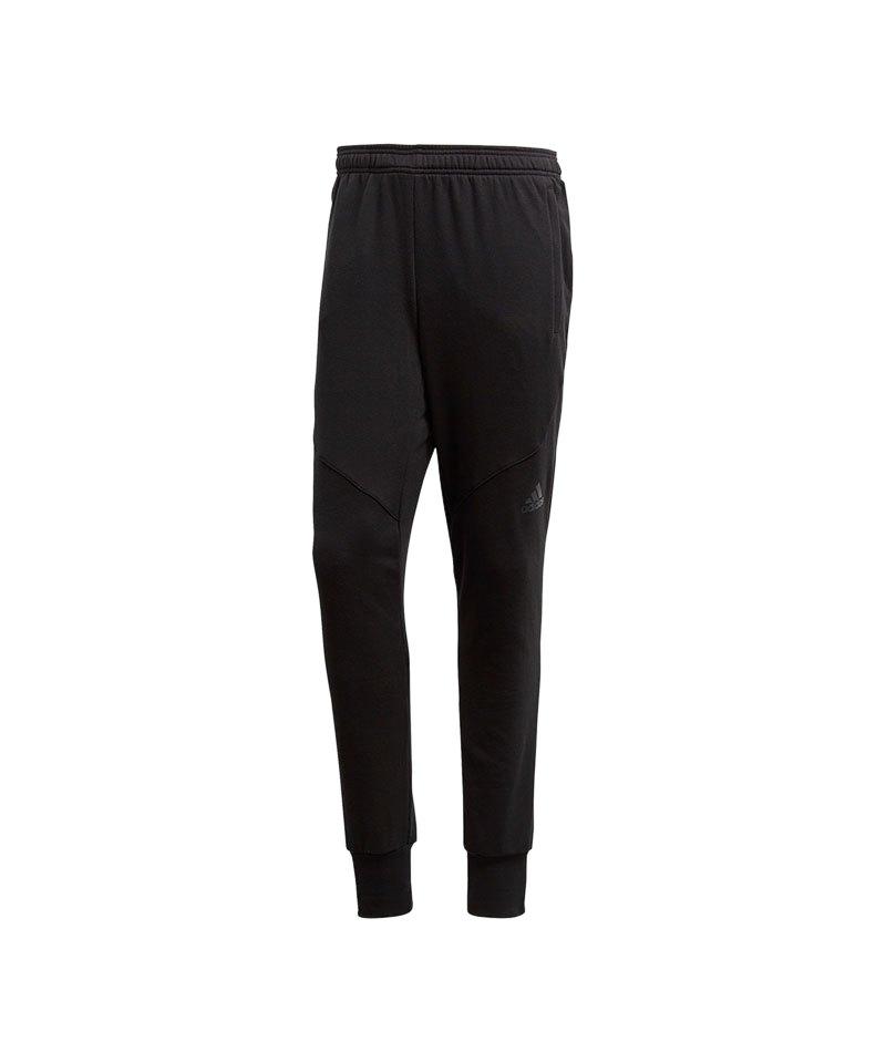 adidas Workout Prime Pant Jogginghose Schwarz - schwarz