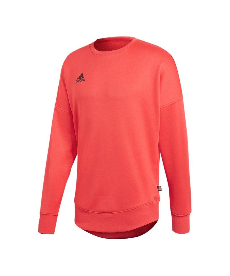 adidas Tango Terry Jersey Sweatshirt Rot - rot