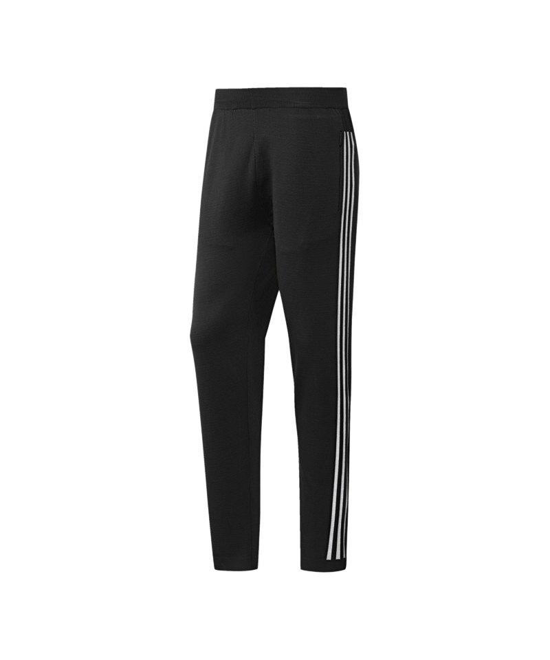 adidas ID Knit Striker Jogginghose Pant Schwarz - schwarz