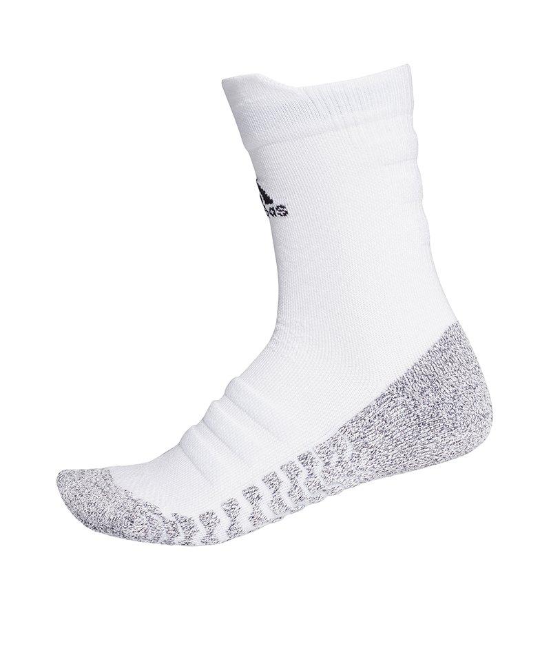 adidas Alphaskin Traxion Cush Crew Socken Weiss - weiss