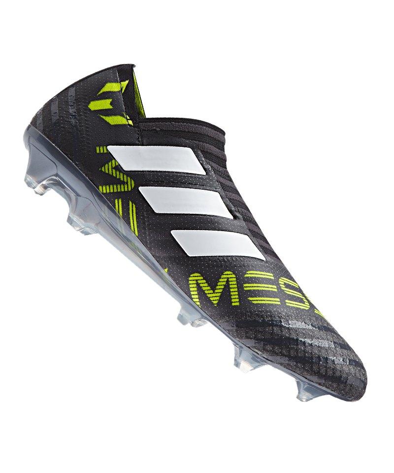 adidas FG NEMEZIZ Messi 17+ 360Agility Schwarz Weiss Gelb - schwarz