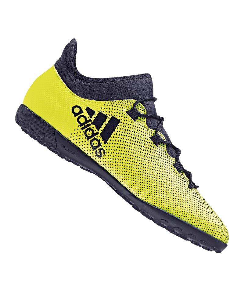 adidas TF X Tango 17.3 J Kinder Gelb Blau - gelb