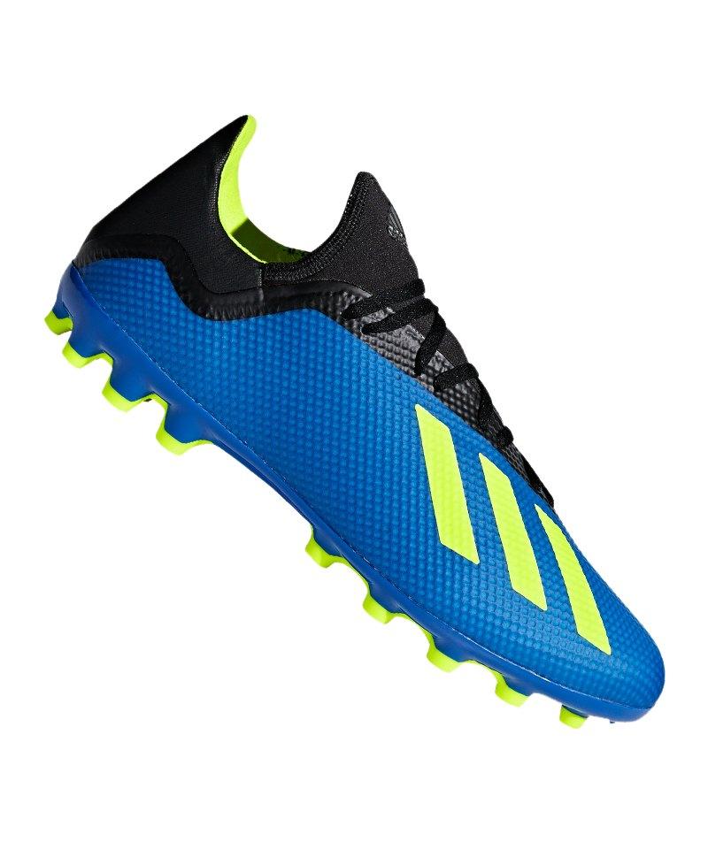 adidas X 18.3 AG Blau Gelb - blau