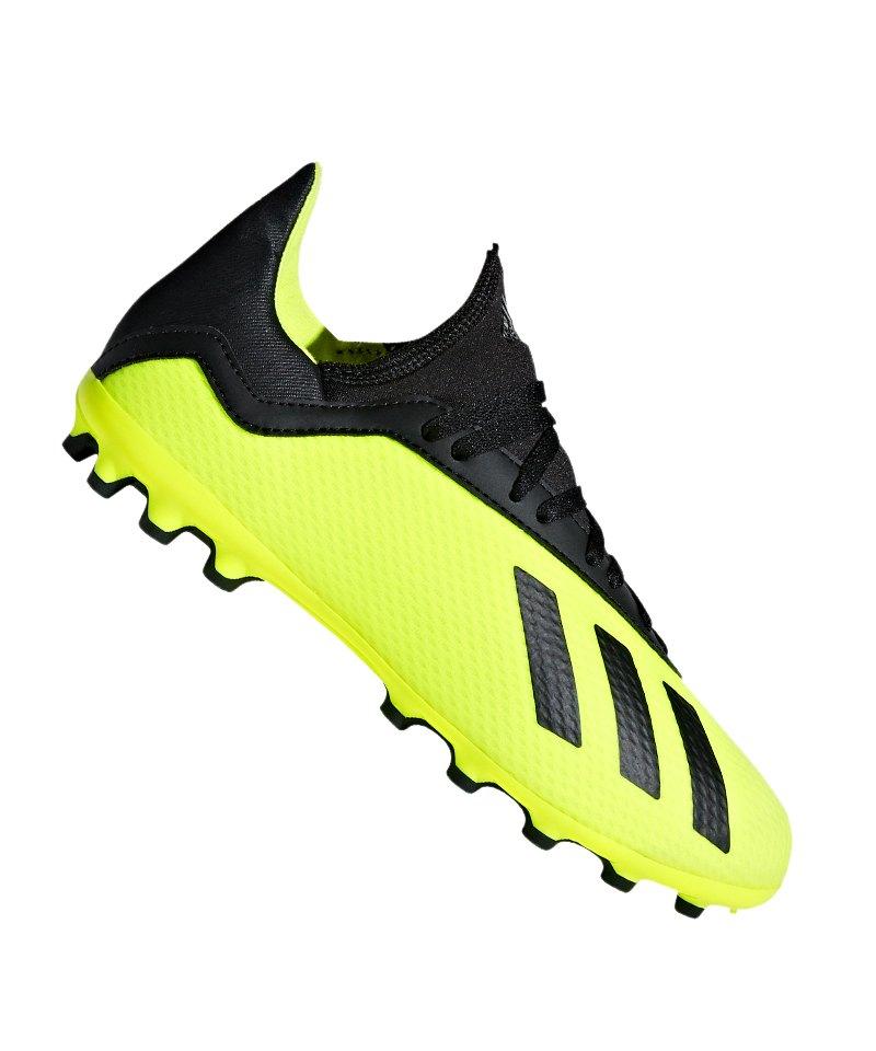 adidas X 18.3 AG J Kids Gelb Schwarz - gelb