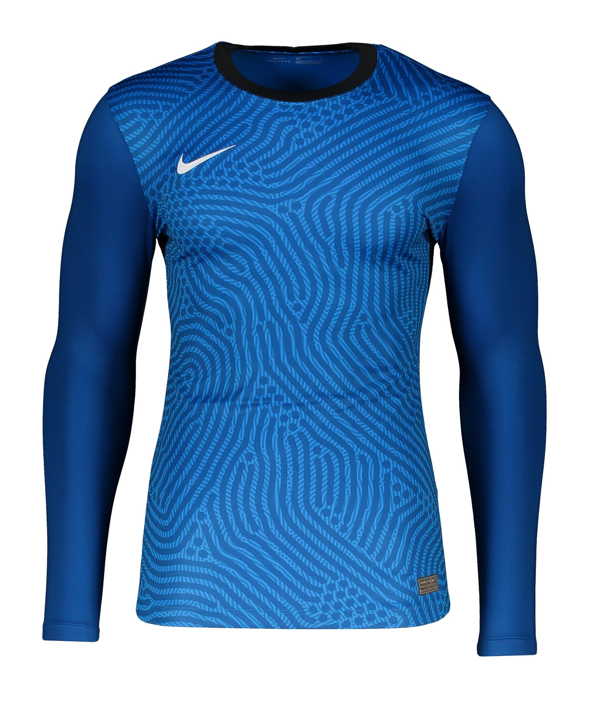 Nike Promo TW-Trikot langarm Blau F406 - blau