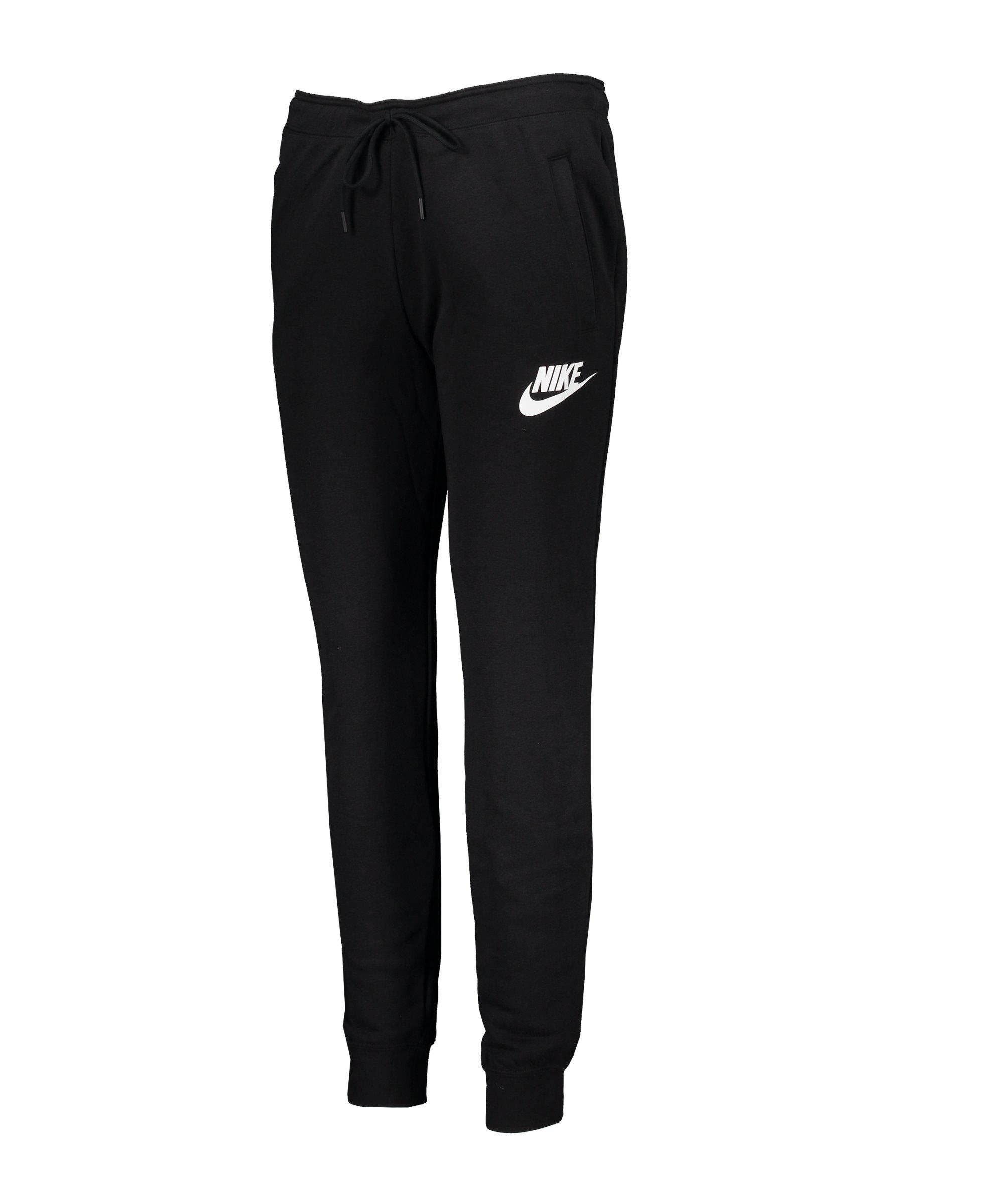 Nike Rally Jogginghose Damen Schwarz F010 - schwarz