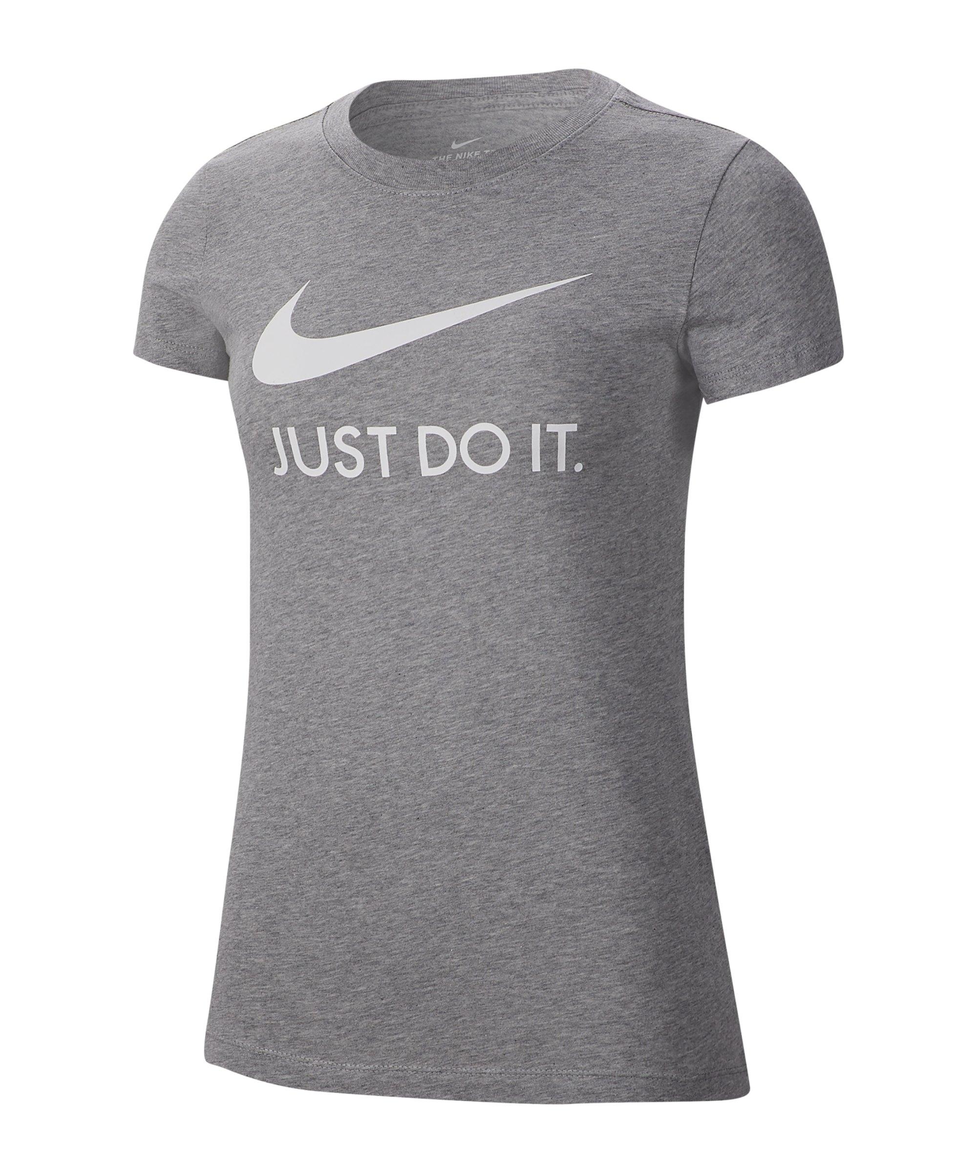 Nike JDI Print Tee T-Shirt Damen Grau F063 - grau