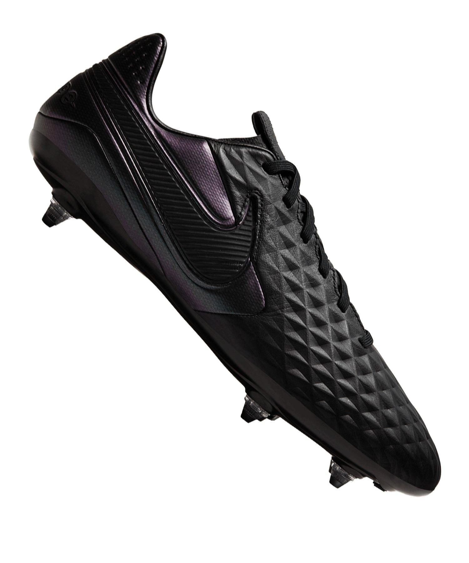 Nike Tiempo Legend VIII Pro SG Schwarz F010 - schwarz