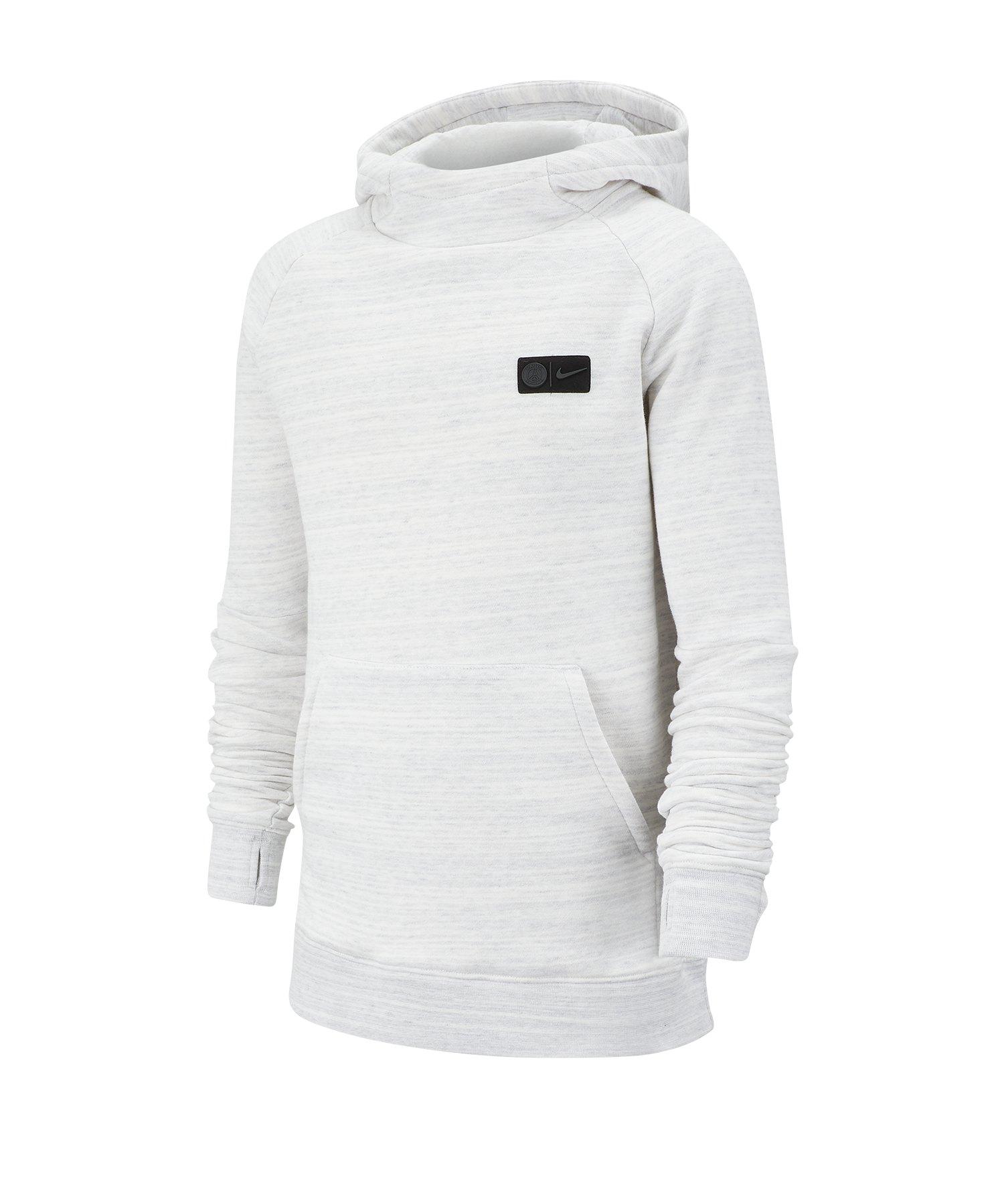 Nike Paris St. Germain Kapuzensweatshirt Kids F104 - weiss