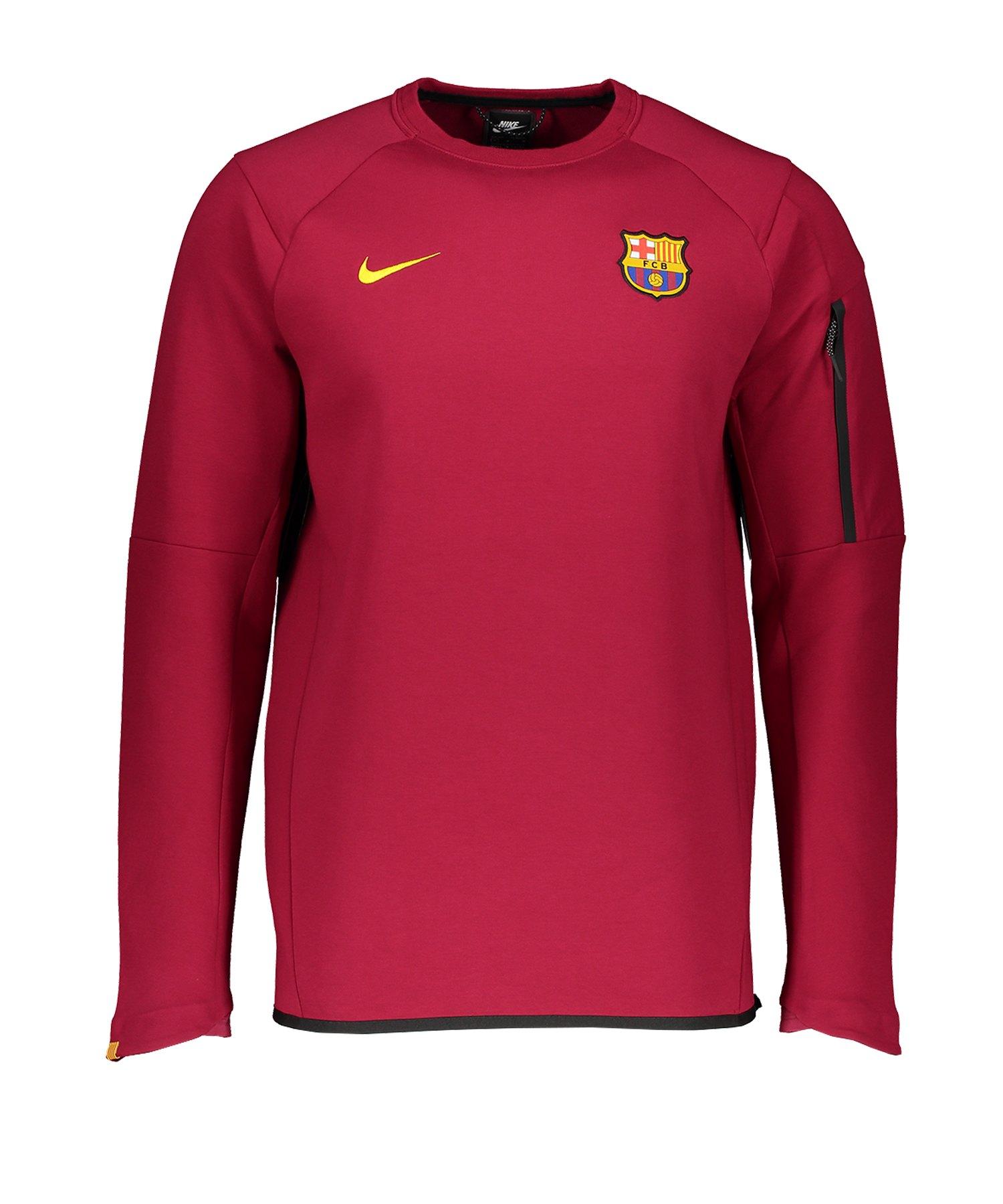 Nike FC Barcelona Longsleeve Rot F620 - rot