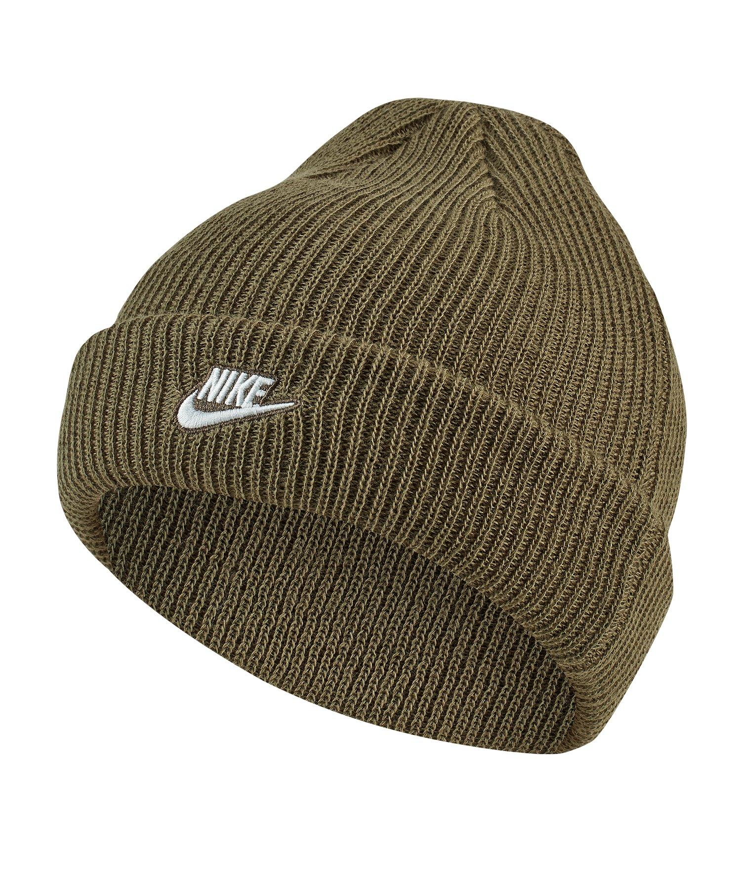 Nike Beanie Mütze Braun F222 - braun