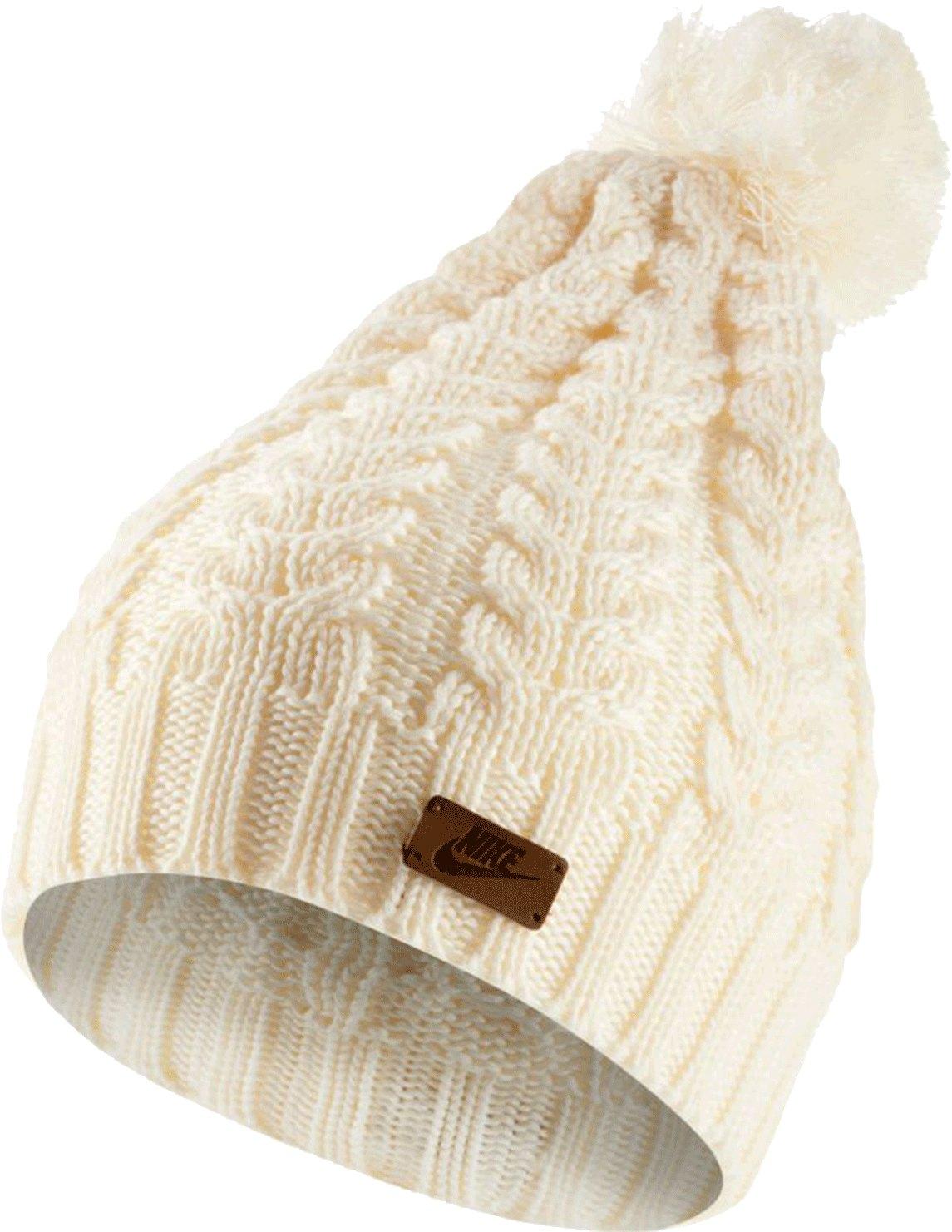 Nike Knit Beanie Mütze Damen Weiss F110 - weiss