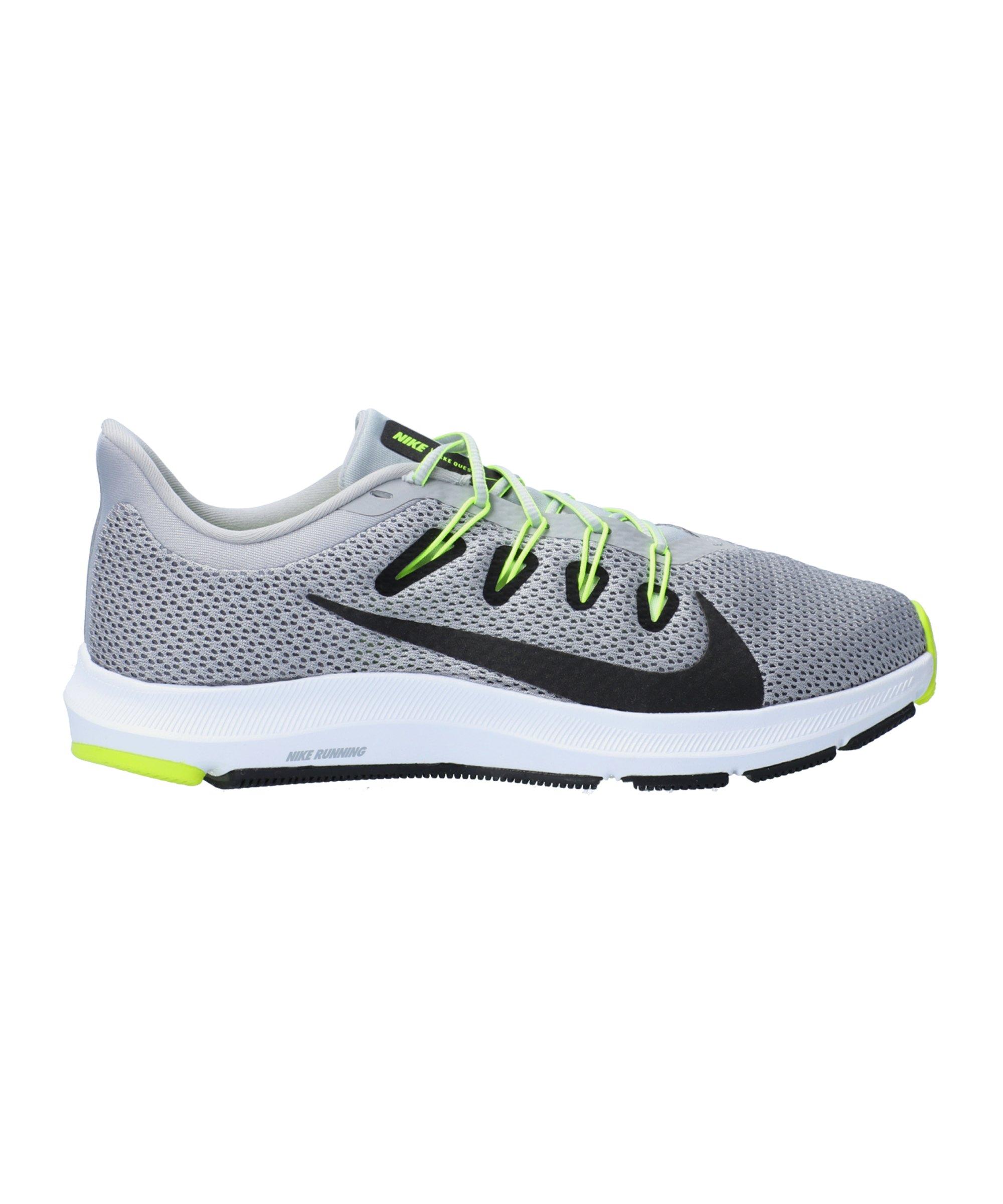Nike Quest 2 Running Grau Schwarz F011 - grau