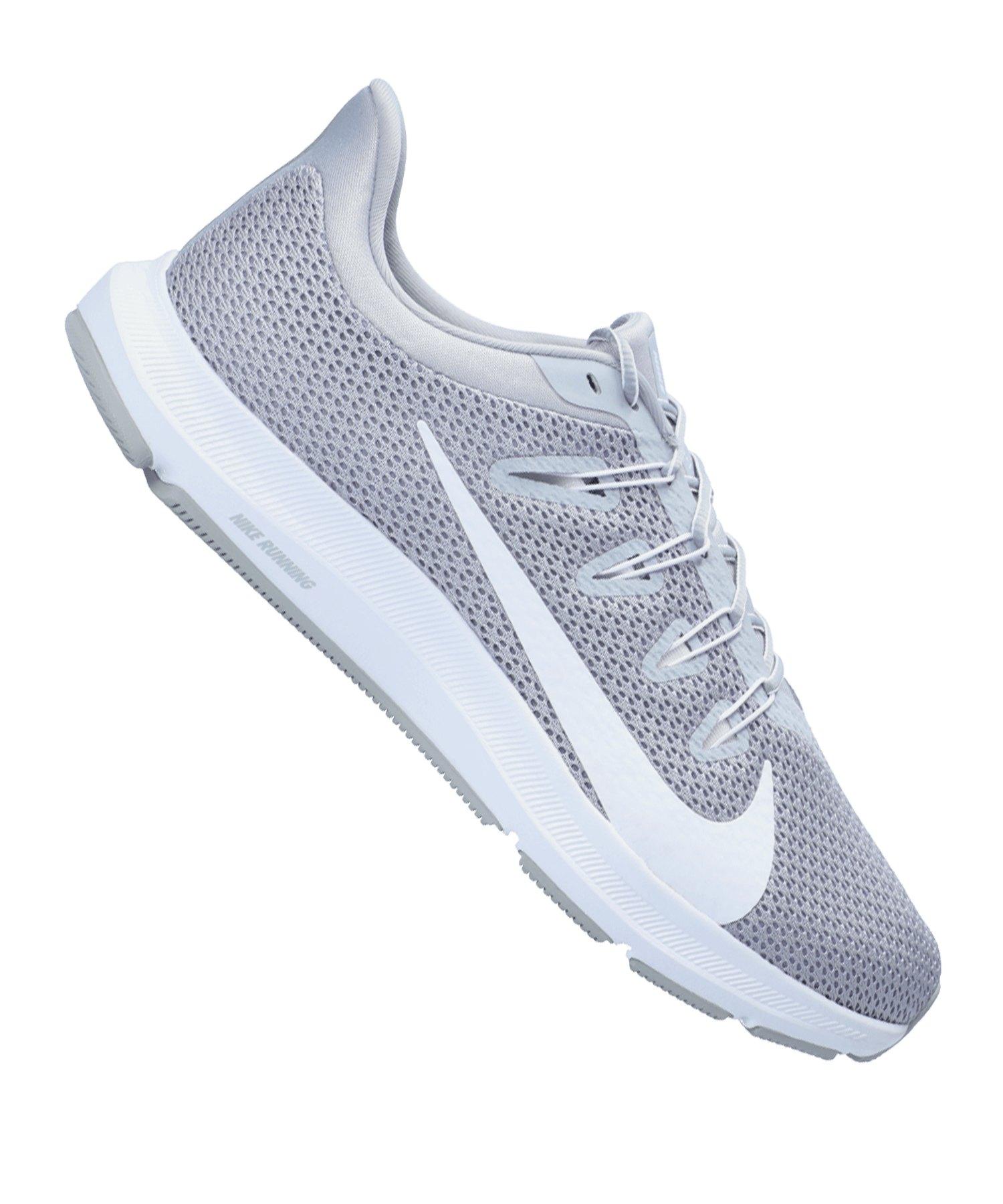 Nike Quest 2 Running Grau Weiss F004 - grau