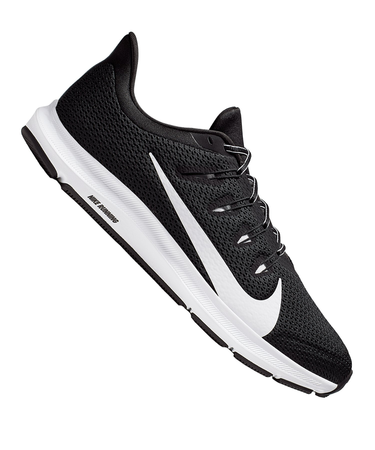 Nike Quest 2 Running Schwarz Weiss F002 - schwarz