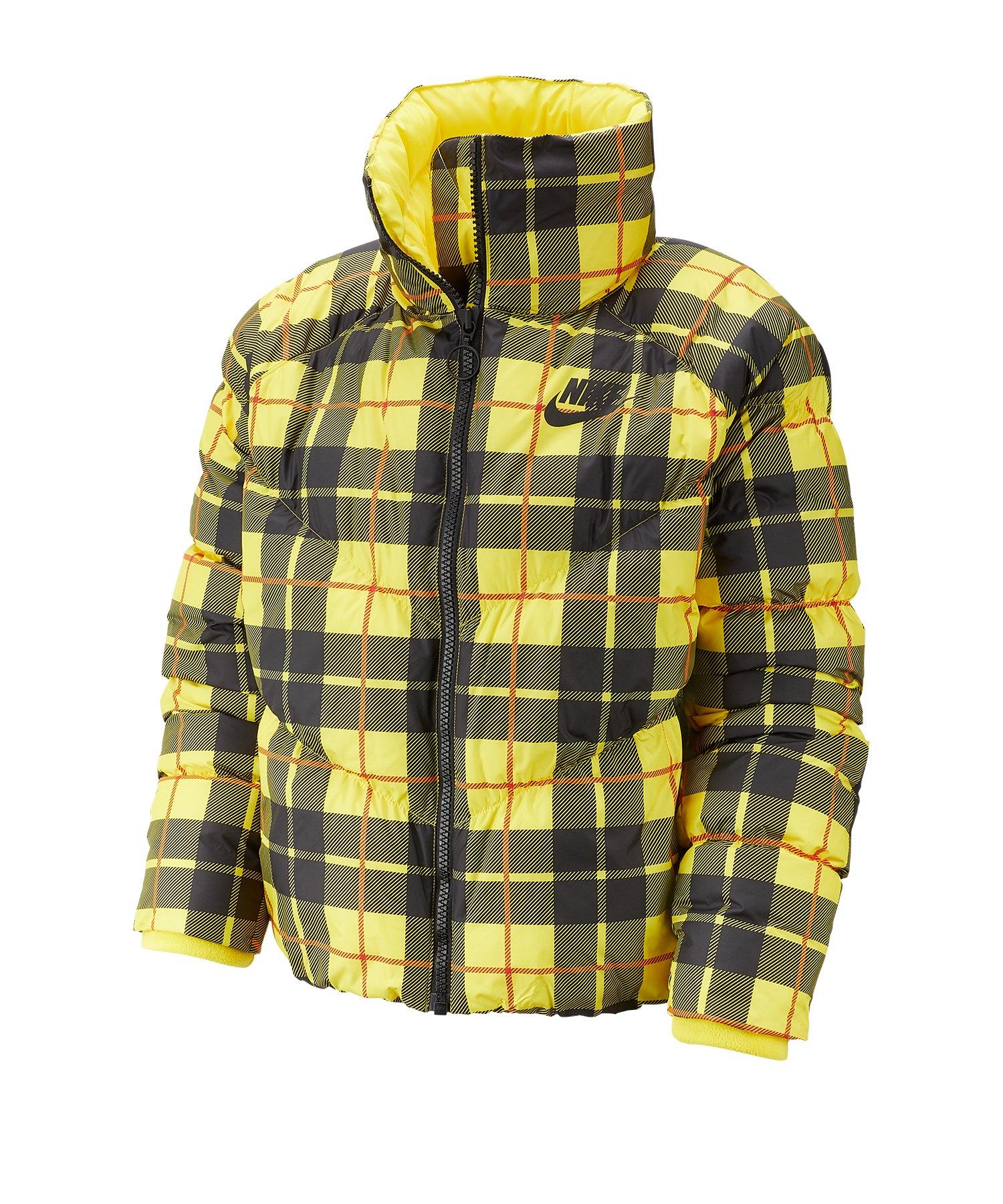 Nike Old-School Jacke Damen Gelb F703 - gelb