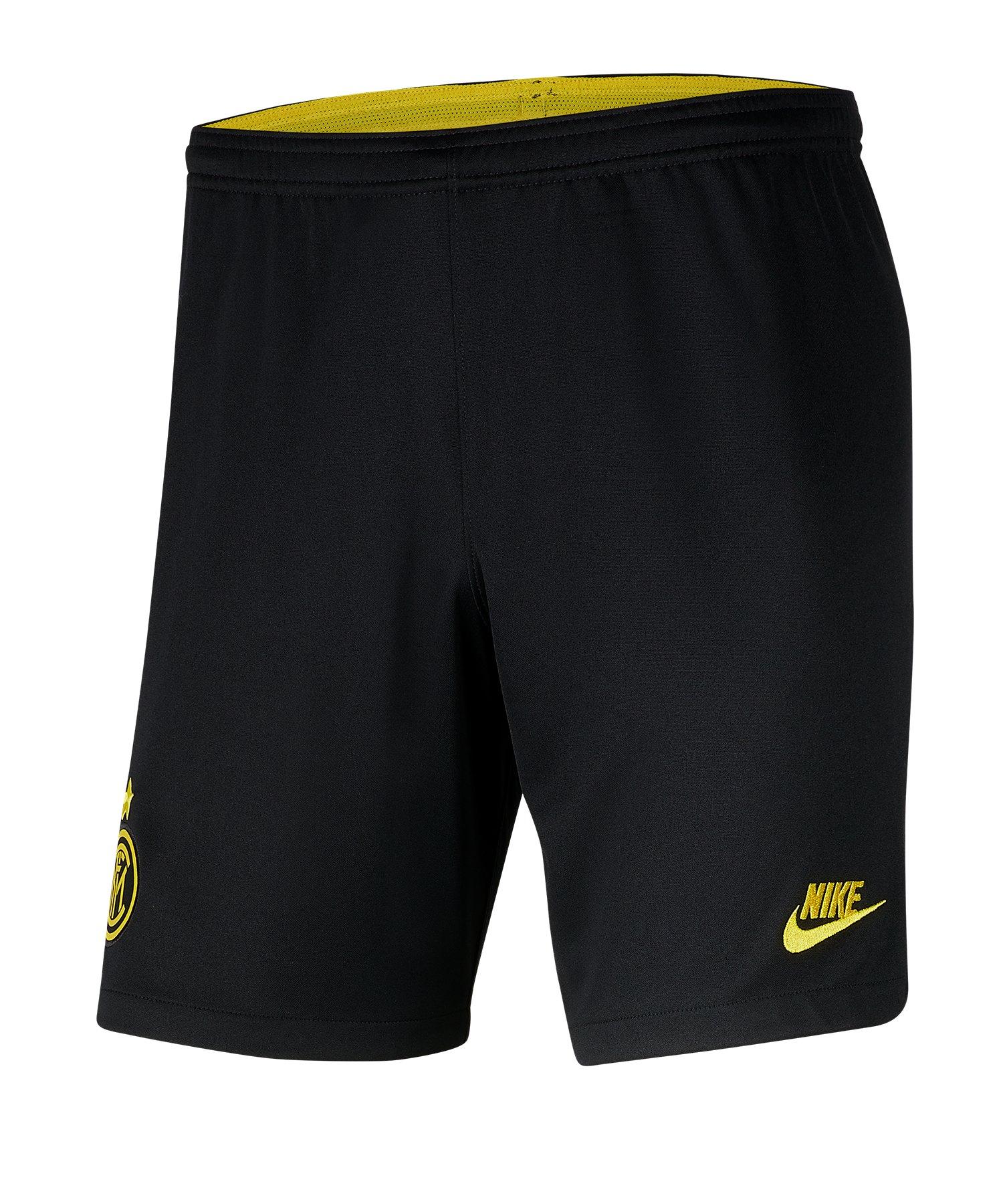 Nike Inter Mailand Short UCL 2019/2020 Kids Schwarz F010 - schwarz